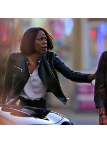 Spontaneous Agent Rosetti Leather Jacket
