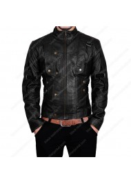 BLJ GotG Star Lord Black Leather Jacket