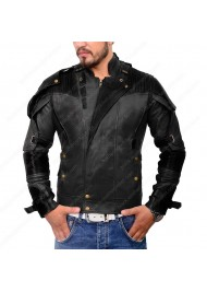 Guardians of the Galaxy Vol.2 Star Lord Black Leather Jacket