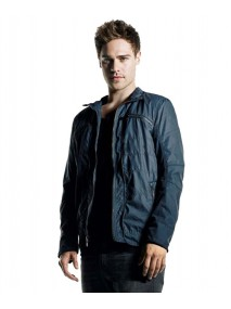 Star Crossed Grayson Grey Damon Leather Jacket
