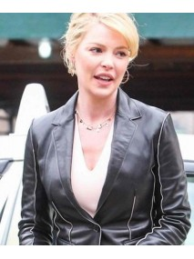 State of Affairs Katherine Heigl Black Leather Jacket