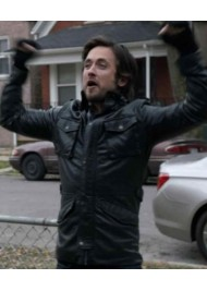 Steve/Jimmy Shameless Justin Chatwin Leather Jacket