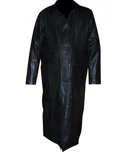 WWE Steve Borden Sting Leather Trench Coat