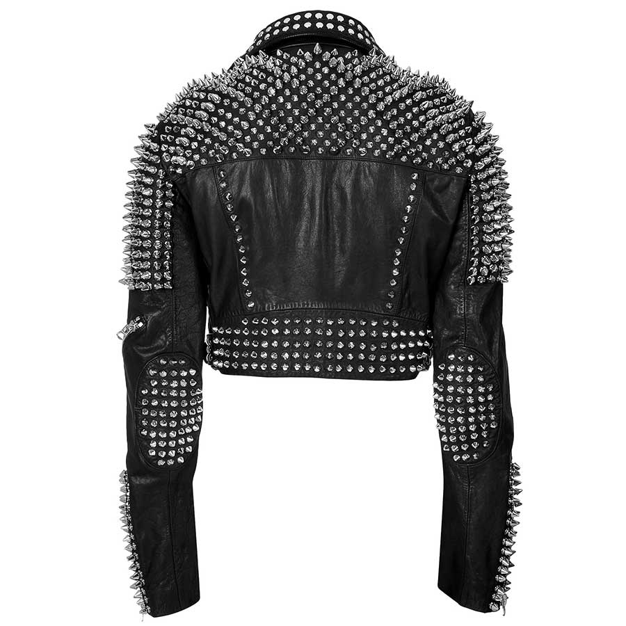 Till The World Ends Britney Spears Studded Leather Jacket