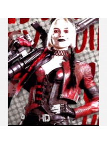 The Suicide Squad Harley Quinn Leather Jacket
