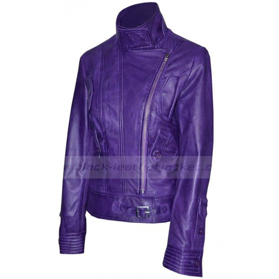 great deals on fashion how to get attractivedesigns Supermodel Womens Purple Leather Motorcycle Jacket