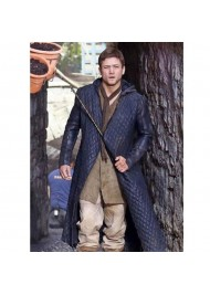 Robin Hood Quilted Leather Trench Coat
