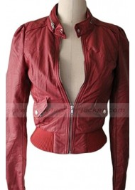 Teen Wolf Season 2 Lydia Martin Leather Jacket