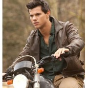 The Twilight Saga Taylor Lautner Leather Jacket