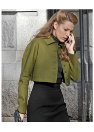 The Age of Adaline Blake Lively Short Green Jacket