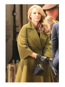 The Age of Adaline Blake Lively Green Trench Coat