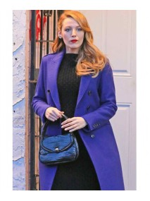 The Age of Adaline Movie Blake Lively Blue Trench Coat