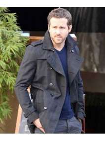 The Captive Movie Ryan Reynolds Double Breasted Jacket