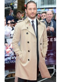 The Dark Knight Rises Premiere Tom Hardy Trench Coat