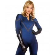 Jessica Alba The Fantastic Four Film Invisible Woman Leather Jacket