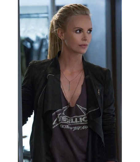 Fast and Furious 8 Charlize Theron Jacket