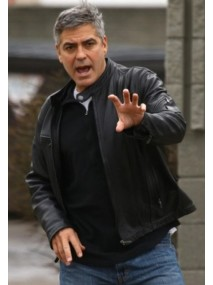 The Ides of March Movie George Clooney Leather Jacket