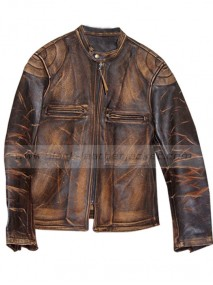 Lyle The Italian Job Leather Jacket