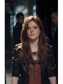 The Last Witch Hunter Rose Leslie Leather Jacket