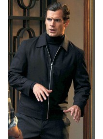 Henry Cavill The Man From Uncle Napoleon Solo Jacket