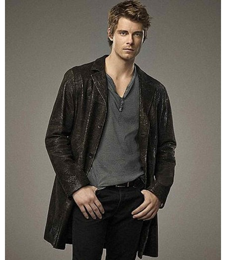 The Tomorrow People Luke Mitchell Black Leather Jacket