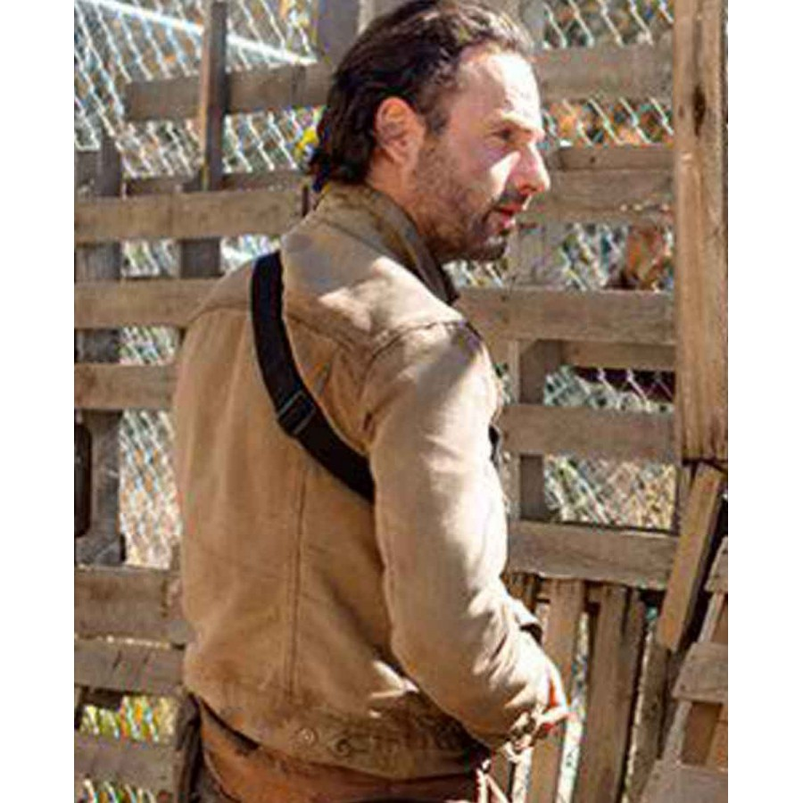 c6bc4c458 The Walking Dead Rick Grimes Jacket Season 4