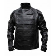 The Winter Soldier Bucky Barnes Jacket With Detachable Sleeves