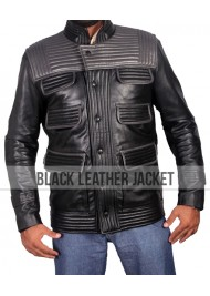Tobias Eaton Insurgent Film Theo James Leather Jacket