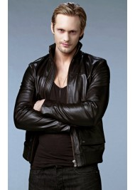 Alexander Skarsgard True Blood Leather Jacket