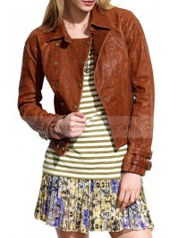 True Blood Season 4 and 6 Sookie Stackhouse Leather Jacket