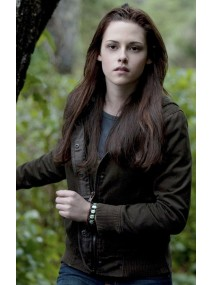 Twilight Kristen Stewart Bella Swan Brown Jacket with Hoodie