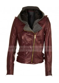 VMA 2011 Kevin Hart Leather Jacket Hoodie