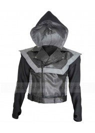 VMA MTV Awards 2010 Hoodie Usher Leather Jacket