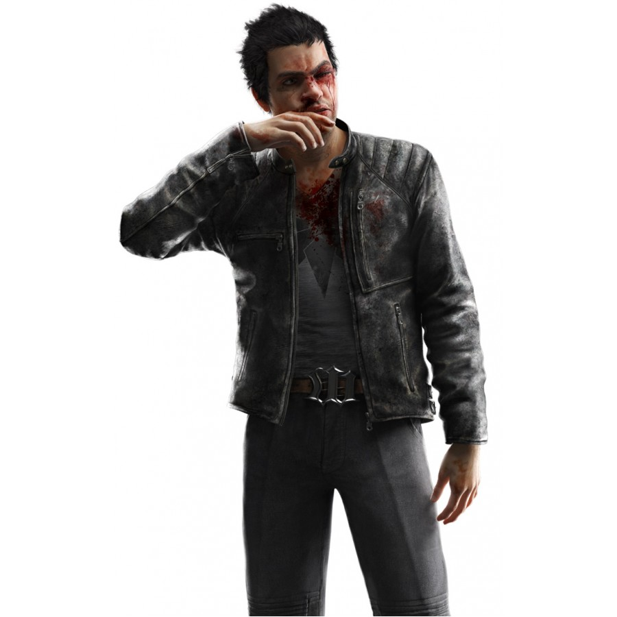 Leather jacket for dogs - Watch Dogs Maurice Vega Leather Jacket