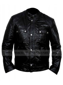 Wesley Gibson Wanted James Mcavoy Black Leather Jacket