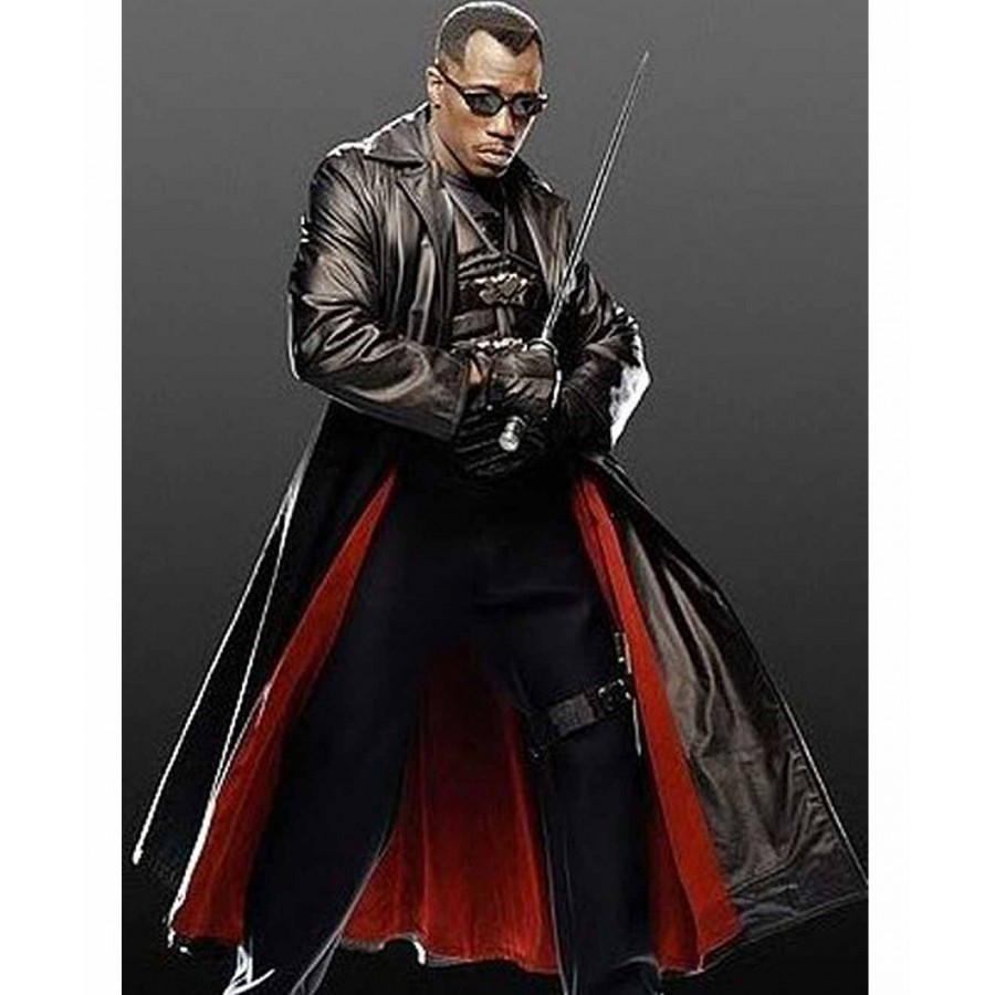 Blade Trench Coat | Wesley Snipes Costume