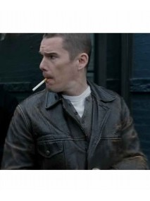 What Doesn't Kill You Ethan Hawke Black Leather Jacket