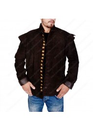 Will William Shakespeare Suede Leather Jacket