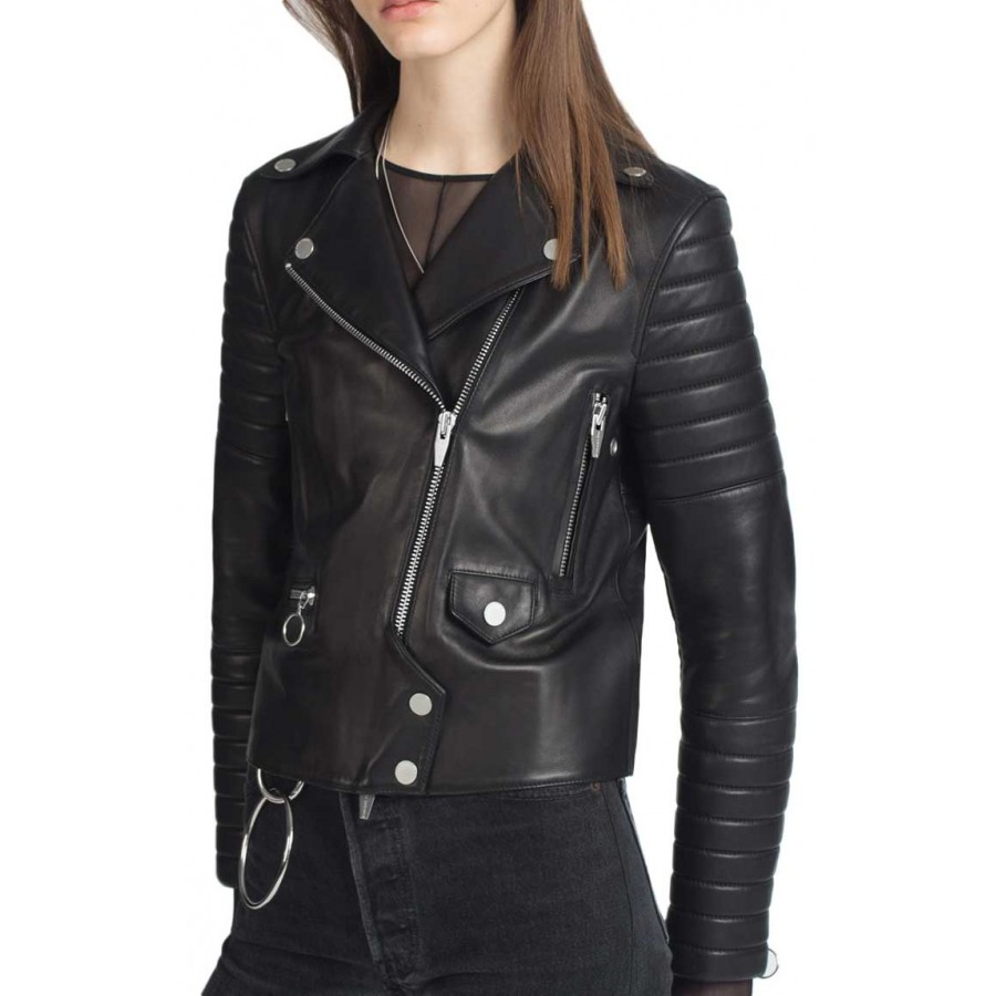 Fashion style Moto leather jackets for women for girls