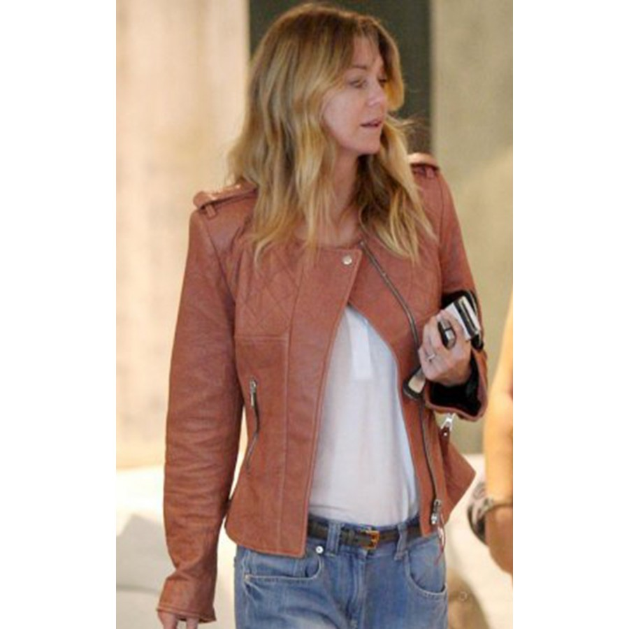 Tan Leather Jackets - Jacket
