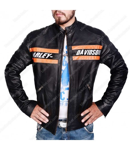 WWE Bill Goldberg Harley Davidson Motorcycle Jacket