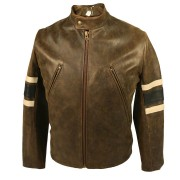 Wolverine X-Men The Last Stand Brown Leather Jacket