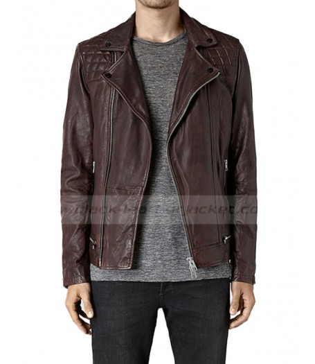 Agents of SHIELD Season 2 Lance Hunter Leather Biker Jacket