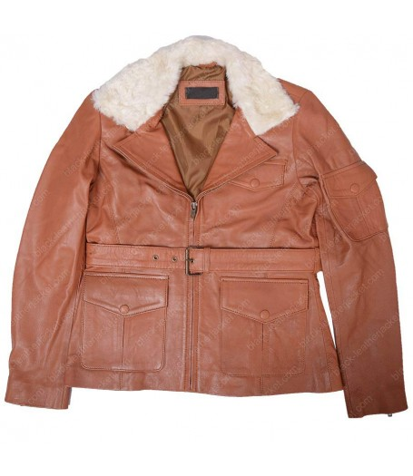 Night At The Museum 2 Amelia Earhart Leather Jacket
