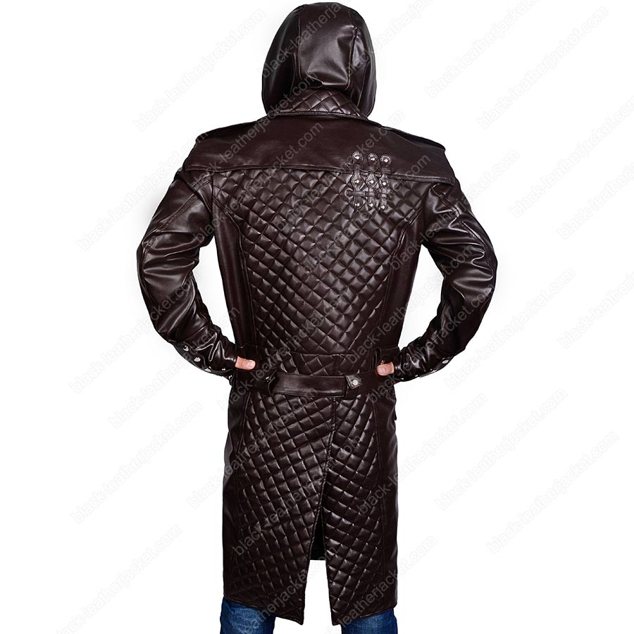 Assassins Creed Syndicate Jacob Frye Hooded Trench Coat