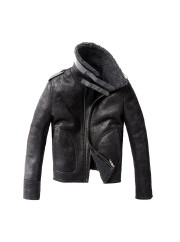 Mens Air Force B3 Leather Jacket