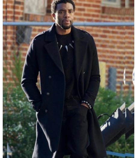 Chadwick Boseman Infinity War Black Panther Coat