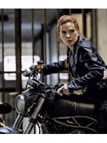 Black Widow 2020 Natasha Romanoff Motorcycle Jacket