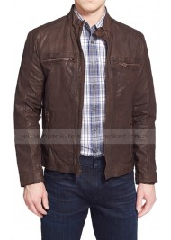 Civil War Steve Rogers Brown Jacket