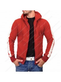 Miguel Coco Red Track Hoodie